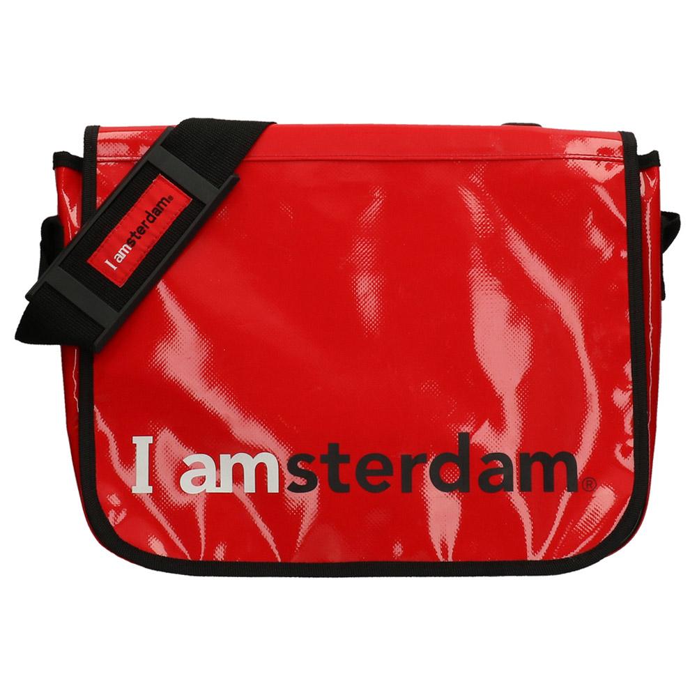 5b60c95e4fb0 Postman Bag - Red - I Amsterdam Shop